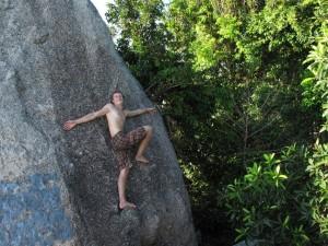 Ben, Thailand Gap Internships Videographer- on the rocks!